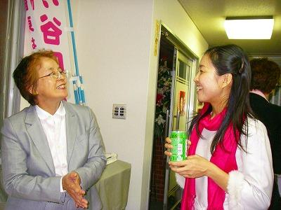 西田陽子さんと