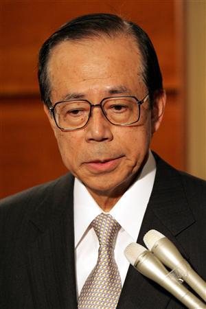 たよりなさげな福田総理