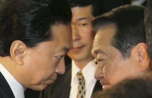 鳩山&小沢退陣