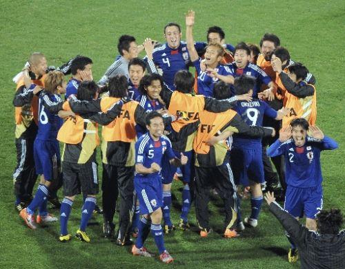 日本、デンマークに快勝