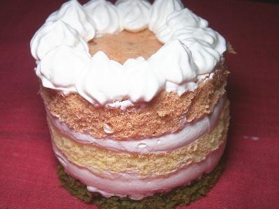 犬の手作りケーキ