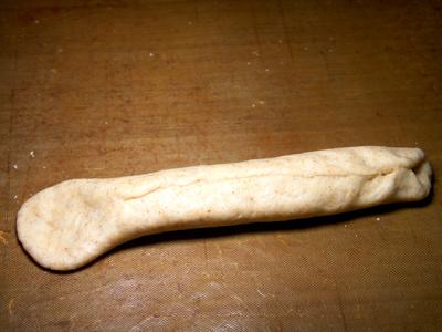 犬の手作りパン