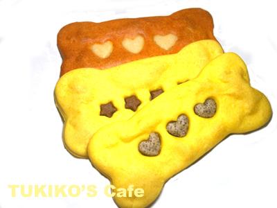 骨型クッキー