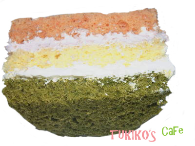 犬用ひな祭りケーキ作り