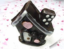 バレンタインデー商品のご紹介 型ぬきハウスチョコのご紹介♪(栃木県自治医大病院近くのおいしいチョコレート、ケーキ屋さん ショコラ)