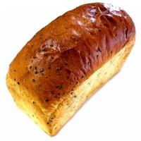 ショコラの手作りパン 新作パンのご紹介 黒ゴマ食パン♪(栃木のこだわり焼きたてパン ショコラの手作りパン)