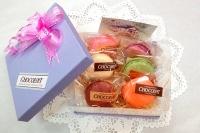 『マカロン詰め合わせ』のパッケージが新しくなりました♪(栃木県自治医大病院近くのおいしいチョコレート、ケーキ屋さん ショコラ)
