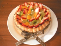 フルーツシャルトットケーキ
