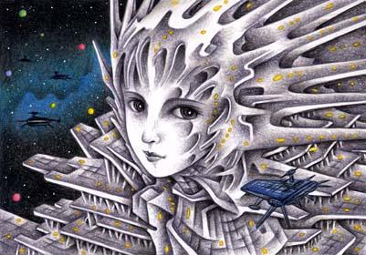 宇宙港の女神