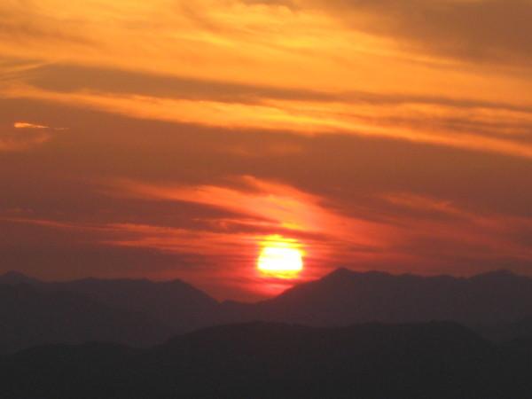 赤い夕日.JPG