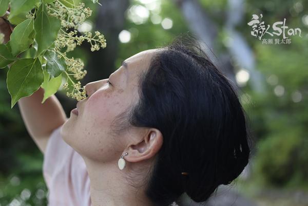 楠の花と美子600.jpg
