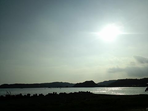 南紀の夕日