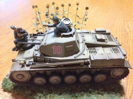 1/35 2号戦車F型