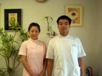 院長夫妻の写真