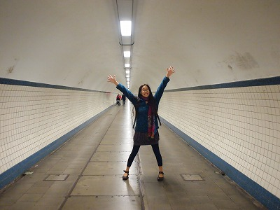 Tunnel under the river-Antwerpen