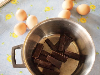 Choco mouese make-home