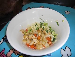 ササミご飯