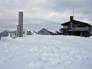 2008年2月18日の塔ノ岳山頂