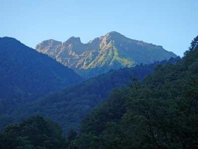 中尾口からの焼岳