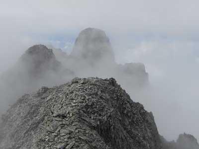雲間のジャンダルム