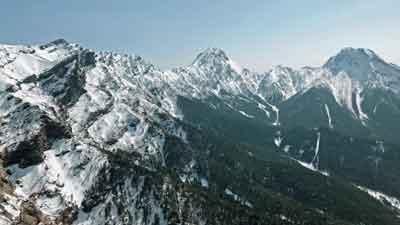 赤岩の頭からの南八ヶ岳主稜
