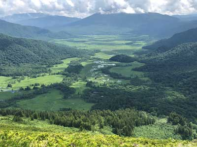 至仏山から尾瀬ヶ原