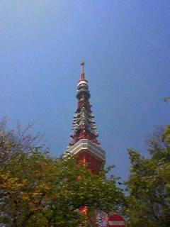東京タワーを二人で見上げた