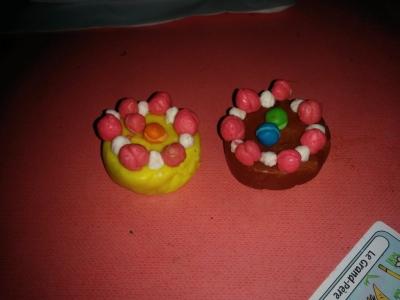 粘土ケーキ