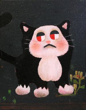 gumliens FEWMANY ねこじまん くつしたねこ 猫 イラスト