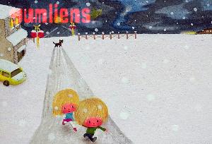 ガムリアンズ 雪景色 イラスト