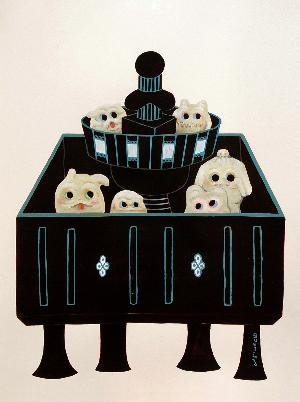 gumliens opa toybox art