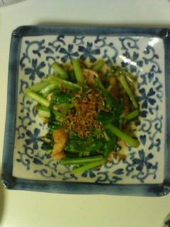 小松菜炒め