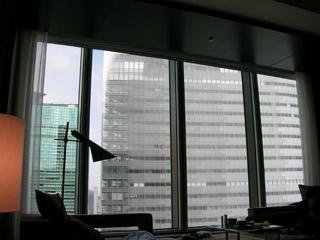 コンラッド東京眺望