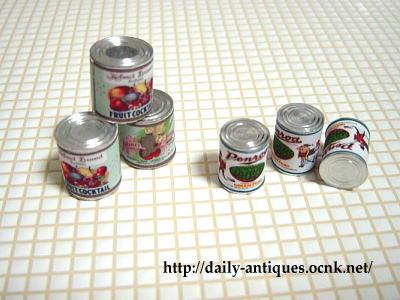 ミニチュア缶詰