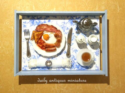 ミニチュア朝食セッ