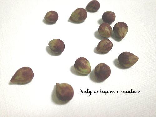 ミニチュアフルーツ
