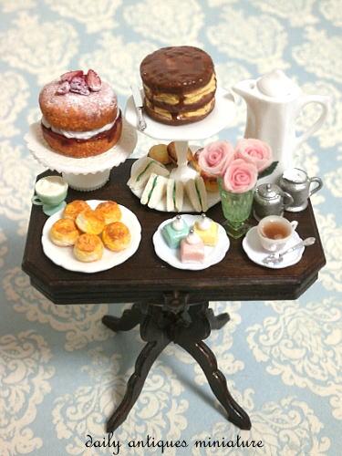 ドールハウスイギリス菓子