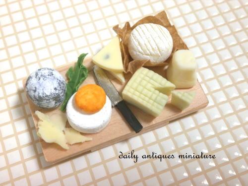 ミニチュアチーズボード