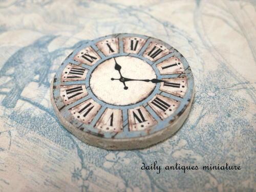 ミニチュア時計