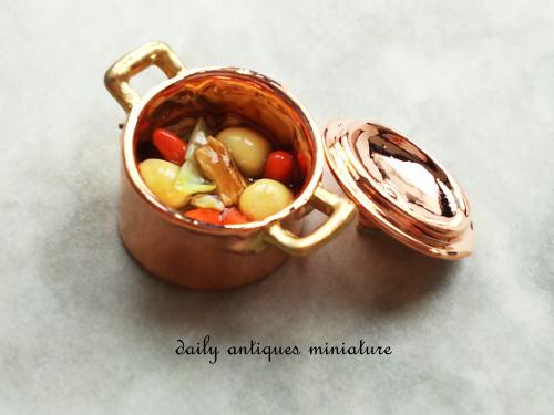 ミニチュア料理