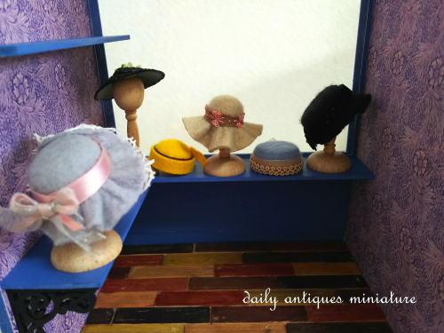 ドールハウス帽子屋さん