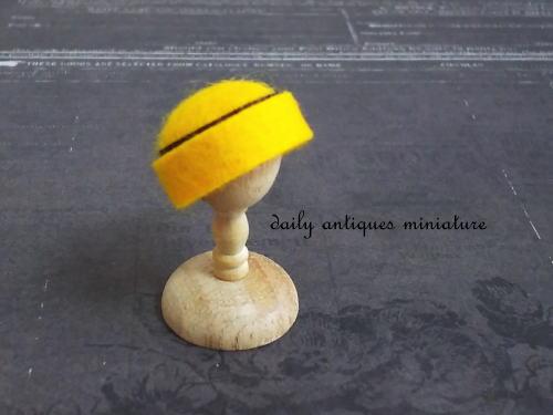 ミニチュア帽子