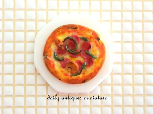 ミニチュアピザ