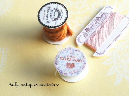 ミニチュアお裁縫アイテム