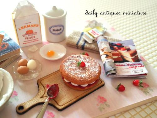 ミニチュアケーキ作り