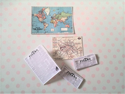 ミニチュア地図
