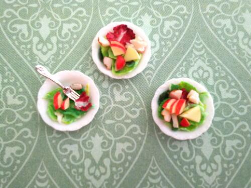 ミニチュアサラダ