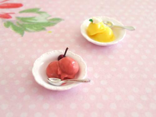 ミニチュアアイスクリーム