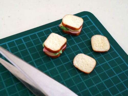 ミニチュアサンドイッチ