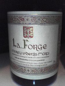 モレ・サン・ドニ・1er・ラ・フォルジュ[2001]モメサン